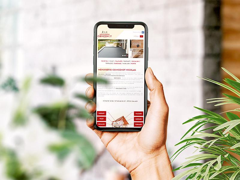 Site internet mobile
